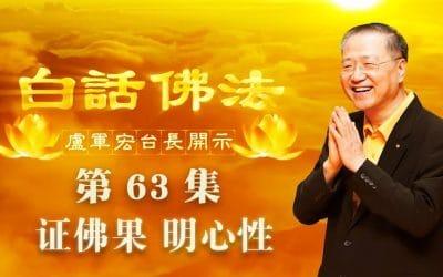 【证佛果 明心性】-卢军宏台长白话佛法开示(第六十三集)2020年5月9日